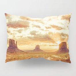 Monument Valley Sunrise Pillow Sham