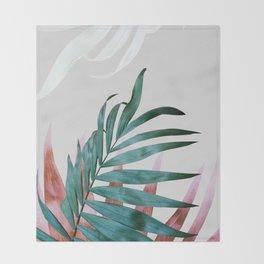 Plant leaves, Foliage, Plants, Botanical Throw Blanket