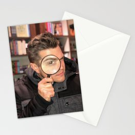 Mystery Man Stationery Cards