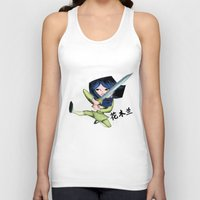 mulan Tank Tops featuring Mulan 2 by Angelus