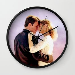 You're In My Veins Wall Clock