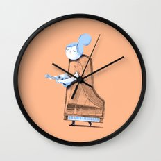 Lady in G Major Wall Clock