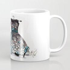 Dots and Shoes Fashion Watercolor Mug