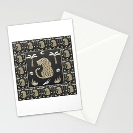 African Tribal Pattern No. 111 Stationery Cards