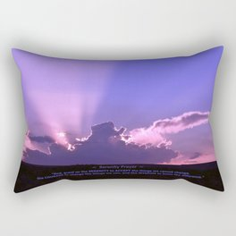 Serenity Prayer - III Rectangular Pillow