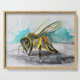 Save the Bee(s) Serving Tray