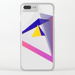 Pyramid #2 Clear iPhone Case