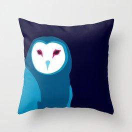 Fancy Owl Throw Pillow