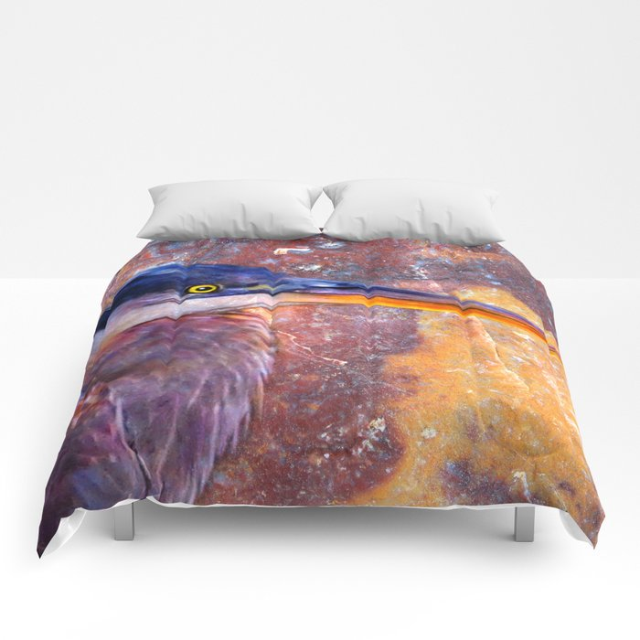Heron-2 Comforters