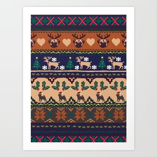 Christmas With You Art Print