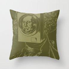 George WASHINGton Machine Throw Pillow