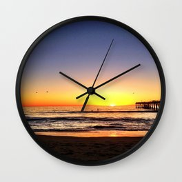 "Hermosa Beach ""At Rest"" Wall Clock"