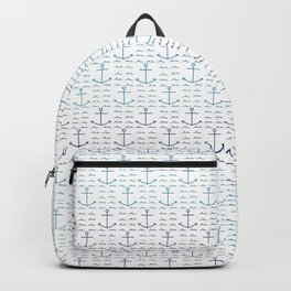 Anchors and Waves Backpack