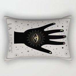 La Justice or The Justice Tarot Rectangular Pillow