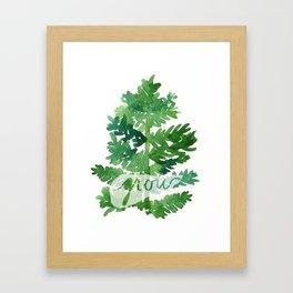 Grow Framed Art Print