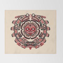 Sisiutl - The Two Headed Serpent Throw Blanket