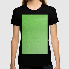 Shattered green flash ombre gradient T-shirt