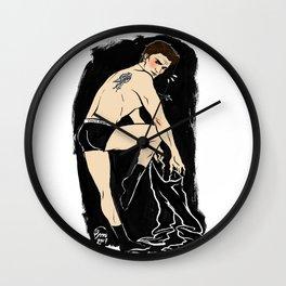 Angel Pin up Wall Clock