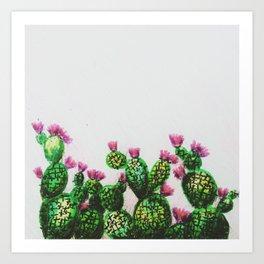 crayola cactus Art Print