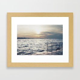 This View Framed Art Print