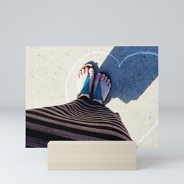 Standing in Love Mini Art Print