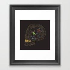 Where is the Gold? Framed Art Print