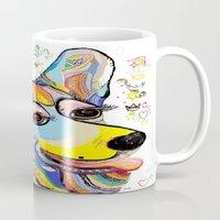 corgi Mugs featuring Corgi by EloiseArt