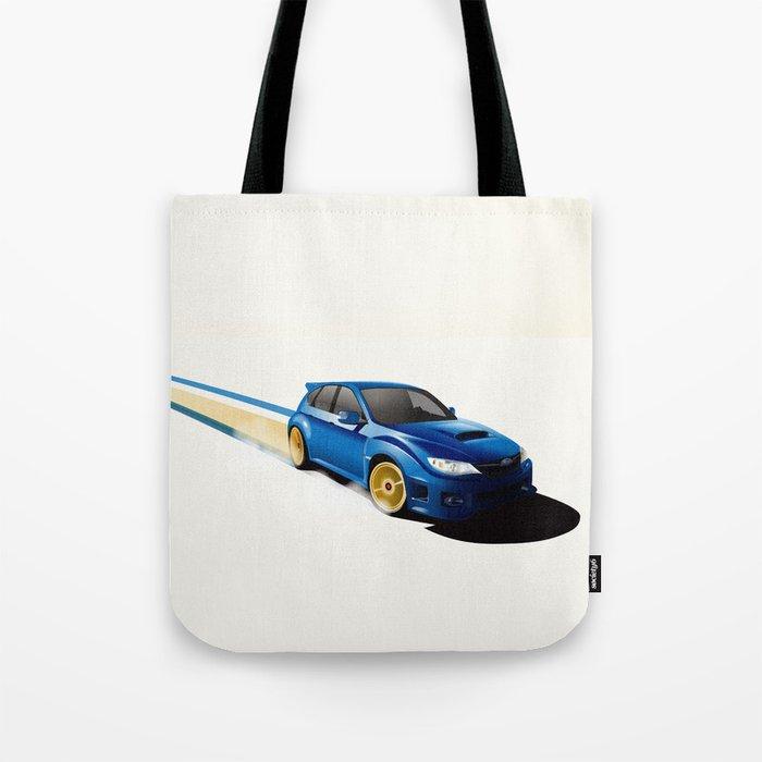 Blue Wonder Tote Bag