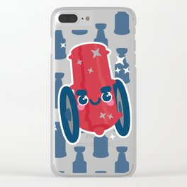 Oh Say Can You CBJ Clear iPhone Case
