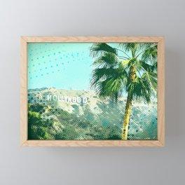 Hollywood Framed Mini Art Print