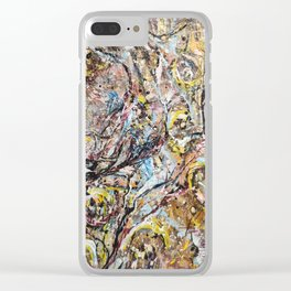 Microscopic cell Clear iPhone Case