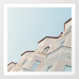 Stucco Art Print
