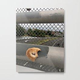 Half a Bagel, Watching Traffic Metal Print