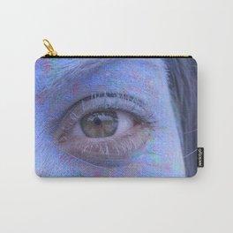 Powder Paint Portrait Carry-All Pouch