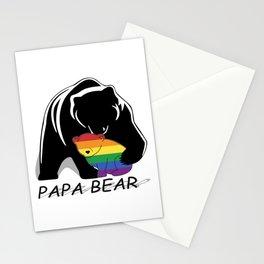 Papa Bear Gay Stationery Cards