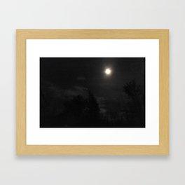 Orbiting Wanderers Framed Art Print