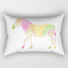 Zebra 6B Rectangular Pillow