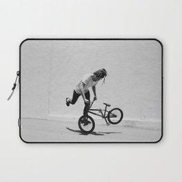 Flatland BMX Rider Laptop Sleeve