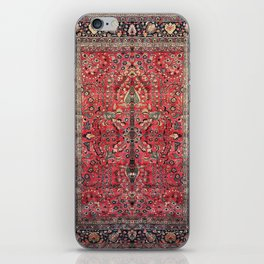 Antique Persian Red Rug iPhone Skin