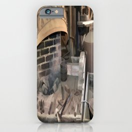 Vintage Blacksmith iPhone Case