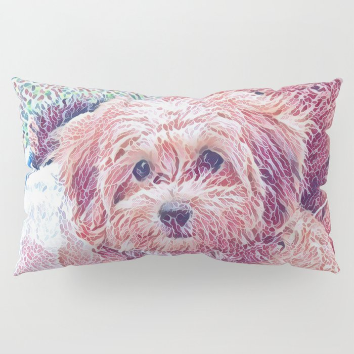 Copper the havapookie as a puppy Pillow Sham