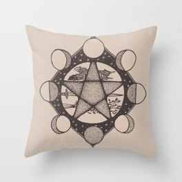 SACRED SPACE Throw Pillow