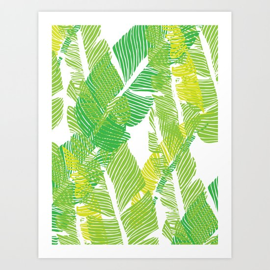 Carved Jungle #society6 #decor #buyart Art Print