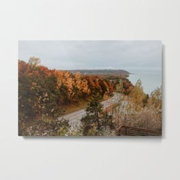 Arcadia Overlook in Fall Metal Print