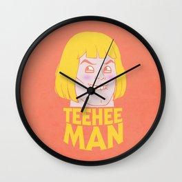 TEE HEE MAN Wall Clock