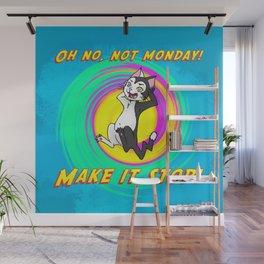 Niels Feynman | Erwin hates Mondays Wall Mural