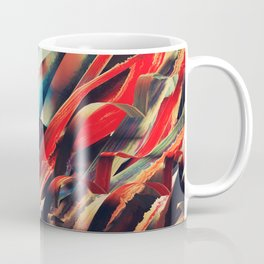 64 Watercolored Lines Coffee Mug