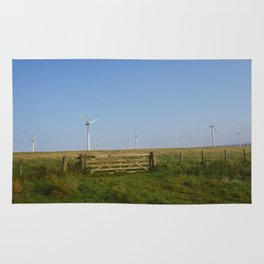 Scottish Wind Mills Rug