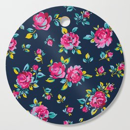 Raspberry Roses Cutting Board