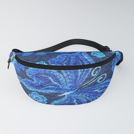 Butterflies - Distressed - Bright Fanny Pack